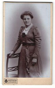 Fotografie Wertheim, Berlin, Portrait junge bürgerliche Frau