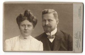 Fotografie Atelier Elite, Berlin-W & Charlottenburg, Portrait junges bürgerliches Paar
