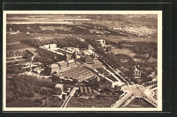 AK Reims, Champagne Pommery & Greno, Vue générale des etablissements, Weinverarbeitung