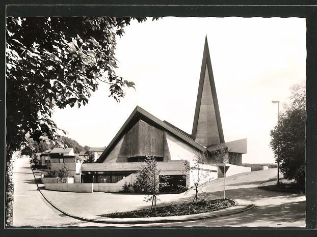 AK Tailfingen, Partie an der Kirche