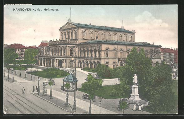 AK Hannover, Königl. Hoftheater