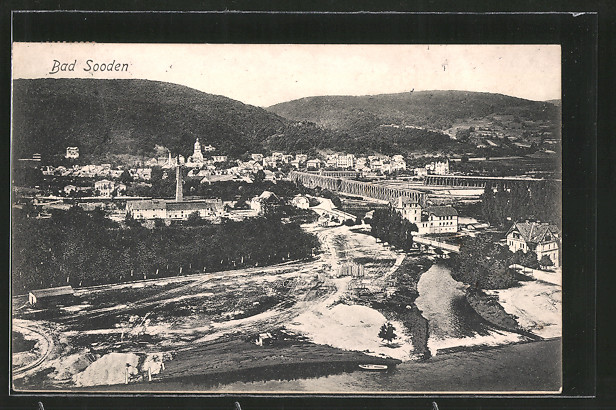 AK Bad Sooden-Allendorf, Totalansicht