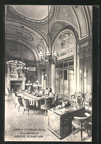 AK Paris, Crédit Lyonnais, Salle du Conseil, Directors' or Board Room