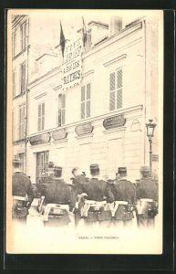 AK Paris, Belagerung Fort Chabrol, Antisemit Jules Guerin