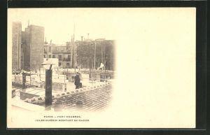 AK Paris, Belagerung Fort Chabrol 1899, Antisemit Jules Guerin