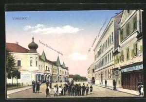 AK Vinkovci, Kr. velika gimnazija, Palaca Brodske im. opcine