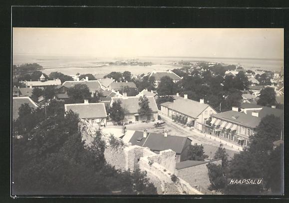 AK Haapsalu, Teilansicht der Ortschaft