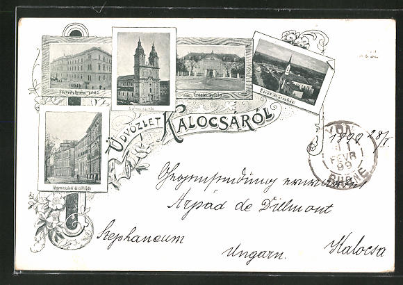 AK Kalocsá, Székes egyház, Fögymnasium és csillagda