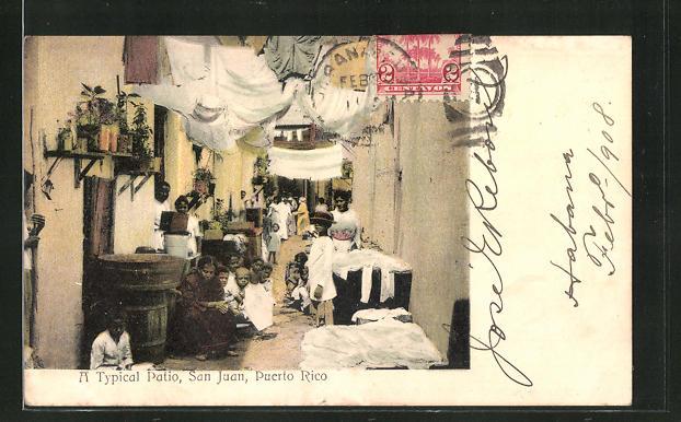 AK San Juan, A typical Patio