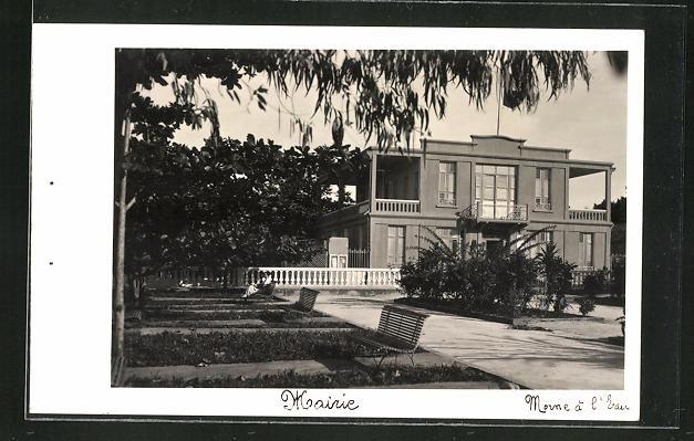 AK Morne à L'Eau, Mairie, Ansicht vom Rathaus