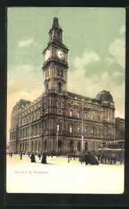 AK Melbourne, The G.P.O., General Post Office