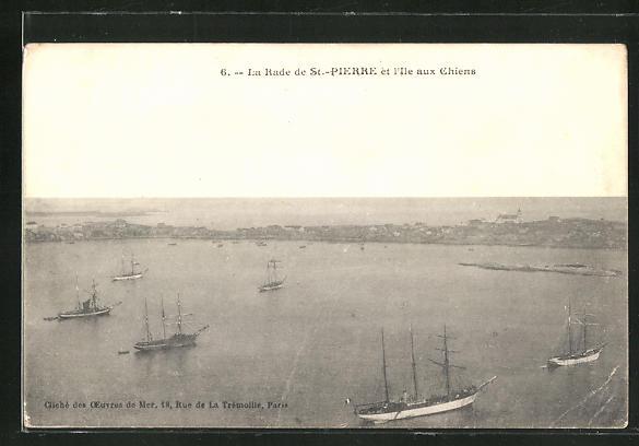 AK St.-Pierre, La rade et l'Ile aux Chiens