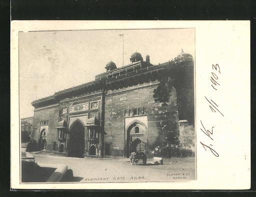 AK Agra, Elephant Gate