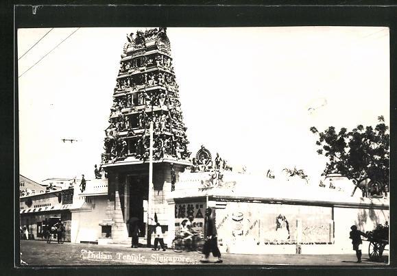 AK Singapore, Indien Temple