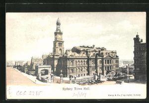 AK Sydney, Town Hall, Rathaus