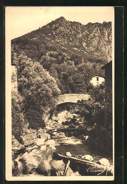AK Andorra, les Escaldes, riu Madriu