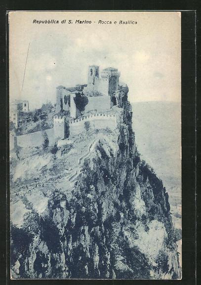 AK San Marino, Rocca e Basilica