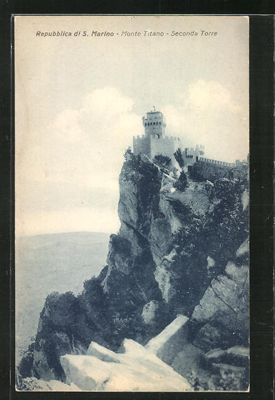 AK San Marino, Monte Titano, Seconda Torre