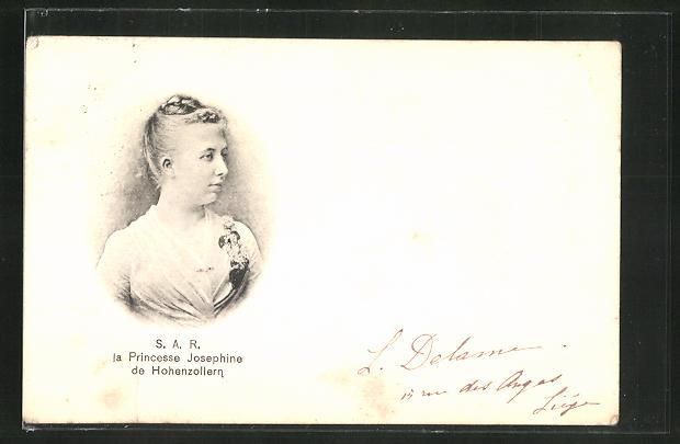 AK Prinzessin Josephine von Hohenzollern