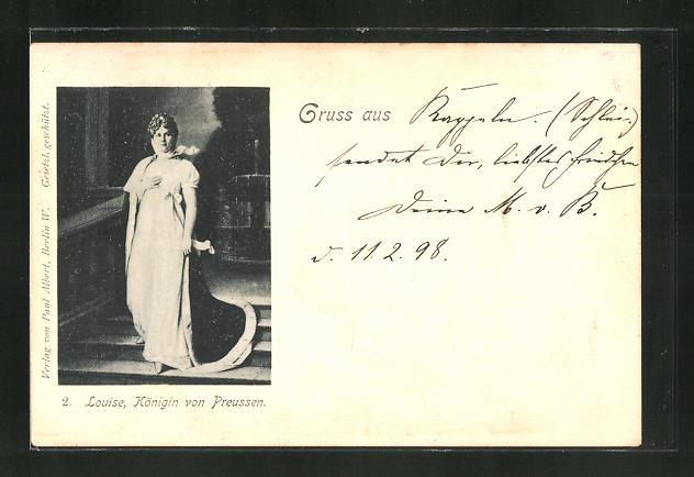 AK Louise, Königin von Preussen