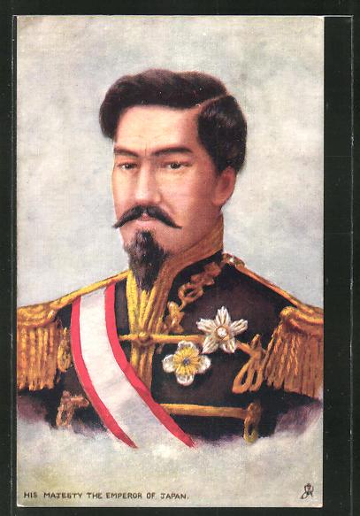 AK Japan, Kaiser Mutsuhito, Kaiser von Japan