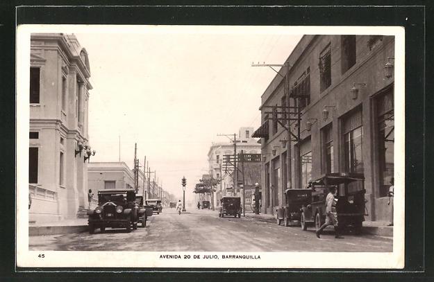 AK Barranquilla, Avenida 20 de Julio