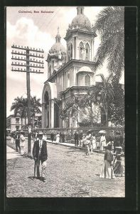 AK San Salvador, An der Kathedrale