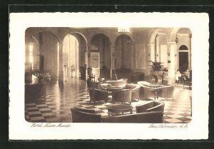 AK San Salvador, Hotel Nuevo Mundo