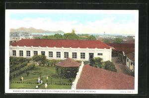 AK Managua, Instituto Pedagogico, vista Hacia la Ciudad