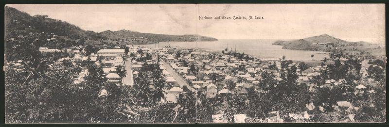 Klapp-AK St. Lucia, Harbour and Town Castries