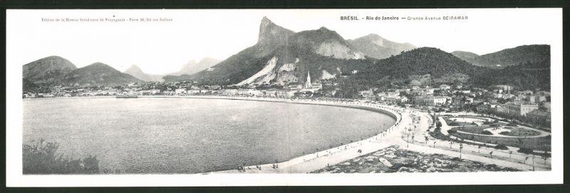 Klapp-AK Rio de Janeiro, Grande Avenue Beiramar