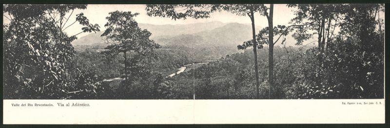 Klapp-AK Valle del Rio Reventazón, Via al Atlantico, Panorama