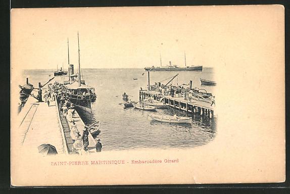 AK Saint-Pierre, Embarcadere Girard