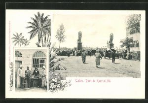 AK Caire, Pont de Kasr-el-Nil