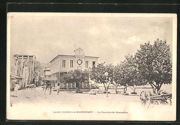 AK Saint-Pierre-la-Martinique, La Chambre de Commerce