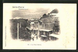 AK Saint-Pierre-la-Martinique, La Place Bertin