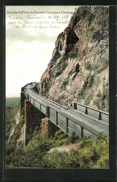 AK Paranaguá, Estrada de Ferro do Parana, Curityba