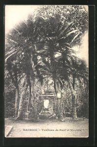 AK Maurice, Tombeau de Paul et Virginie