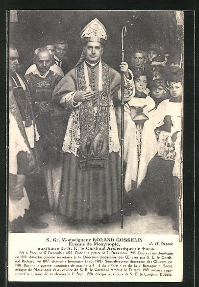 AK S. Gr. Monseigneur Roland Gosselin