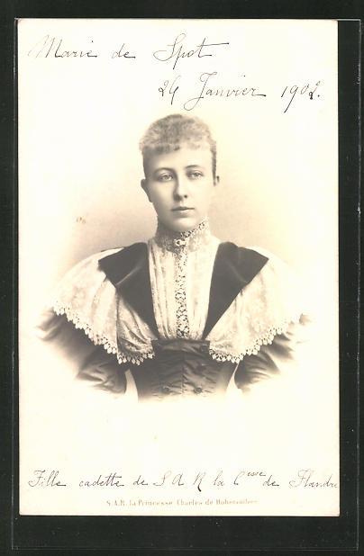AK S.A.R. la Princesse Charles de Hohenzollern