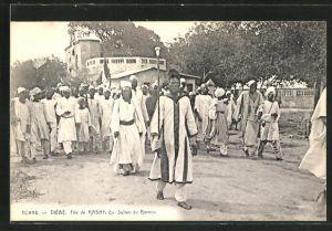 AK Niébé, Fils de Rabah Ex Sultan du Bornou