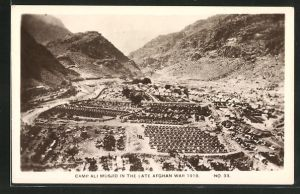 AK Afghanistan, Camp Ali Musjid in the late Afghan War 1919