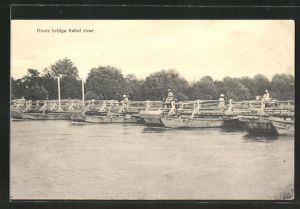 AK Kabul, Boats bridge Kabul river