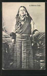 AK Bhutan, A Bhootia Lady