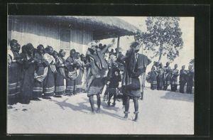 AK Timor Portugues, Um Tebedai (Danca Indigena)