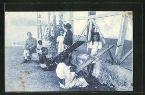 AK Timor Portugues, Tipos e Costumes (Tecedeiras)