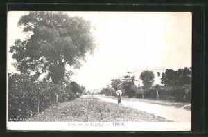 AK Timor, Uma rua de Lequica