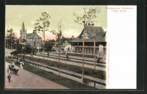 AK Georgetown, Demerara, View of High Street