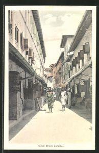 AK Zanzibar, Native Street, Strassenpartie