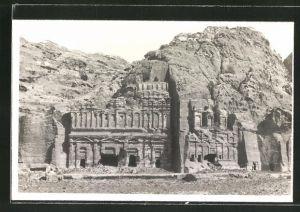 AK Petra, Gräber der Königswand